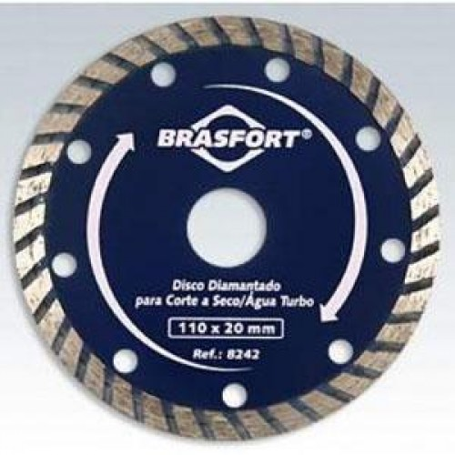 DISCO DIAMANT BRASFORT TURBO A SECO (8242) PC 1